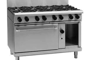 Waldorf 800 Series RNL8810G - 1200mm Gas Range Static Oven Low Back Version
