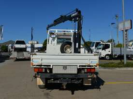 2010 MITSUBISHI FUSO CANTER Tray Truck - 4X4 - Truck Mounted Crane - Tray Top Drop Sides - picture2' - Click to enlarge