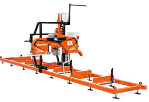 LX100 Twin Rail Portable Sawmill