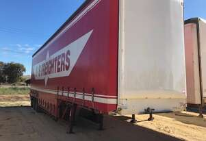 Trailer Drop Deck Curtain Freighter Airbag SN921