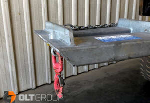 2000kg Forklift Jib Attachment East West Engineering SJ2 2 Hook Point Positions