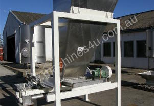 S-Steel Tapered Powder Hopper Capacity 1.5Cu Mtr.