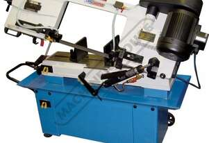 BS-912 Metal Cutting Band Saw - Swivel Vice Mitre Cuts Up To 45º, Quick Action Material Clamp & Inc