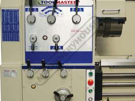 TM-26120G Centre Lathe 660 x 3300mm Turning Capacity - 120mm Spindle Bore Includes Digital Readout - picture3' - Click to enlarge
