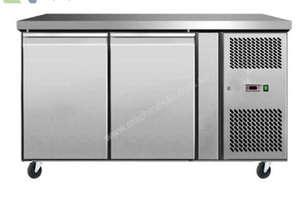 2 DOOR BENCH FRIDGE EURO - EBC02-SS