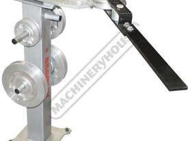 TBRD Manual Tube Bender - Round 12.7 - 28.57mm OD Round Tube Capacity,<br>12.7 - 25.4mm Square Tube  - picture2' - Click to enlarge