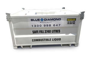 4500L Self Bunded Baffled Safe Upto 4100L