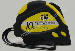 Trade Sure 10m x 32mm Magnetic Tape Measure