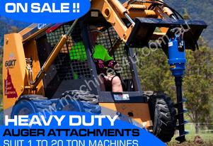Auger Drive Unit. SUIT 1 to 8T Skid Steer Loaders