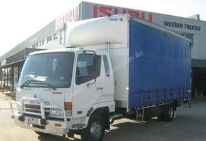 2007 FUSO FIGHTER 5 FK617 Tautliner / Curtainsider