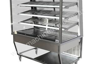 FPG 5H18-SQ-FF 5000 Series Square Heated Fixed Front Food Cabinet - 1800mm