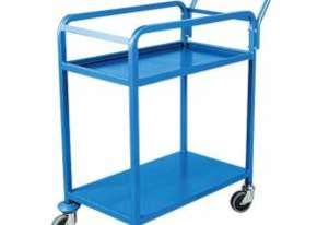 2 Tier Order Picking Trolley 420mm x 900mm