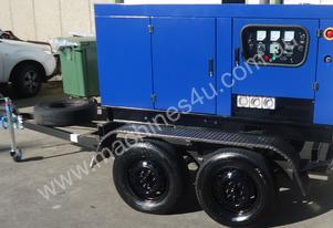 SDS 12.5Kw-15KVA Mobile Water Cooled Diesel Gen