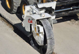 Simex Compaction Wheels to compact trenches