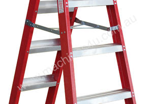 1.7 - 3.2m Fiberglass Dual Purpose Ladder