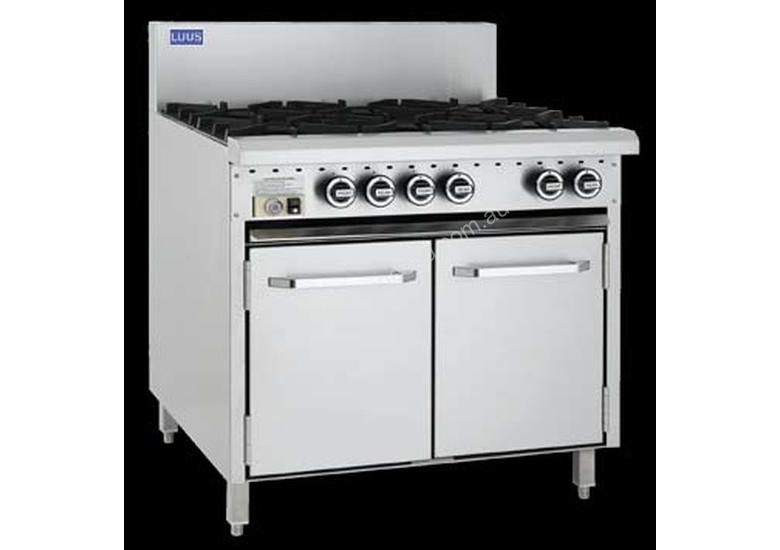 Luus Model CRO-6B - 6 Burners and Oven