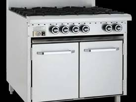 Luus Model CRO6B-6 Burners and Oven