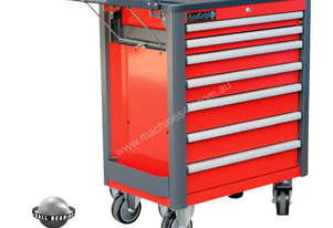 A00056 - Auzgrip 7 DRAWER ROLLER CABINET RED