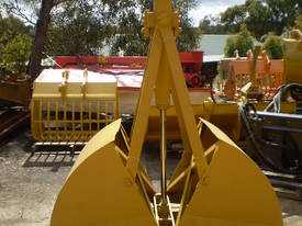 Hydraulic Clamshell Bucket CS4 - picture0' - Click to enlarge
