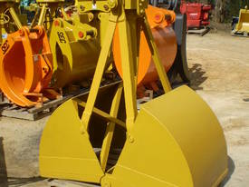 Hydraulic Clamshell Bucket CS4 - picture3' - Click to enlarge
