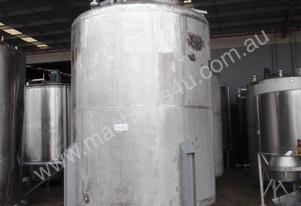 Stainless Steel Mixing Tank - Capacity 10,000 Lt.