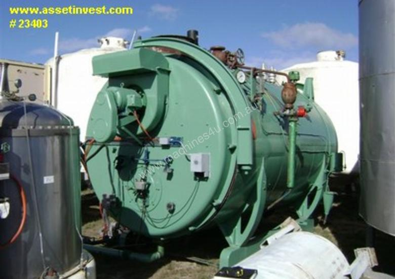 Used Tomlinson Hot Water Boiler for sale - Tomlinson Steam fire tube ...
