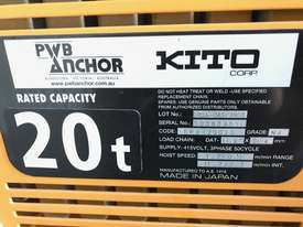 KITO-PWB ANCHOR Electric Chain Hoists.15Tand 20 T - picture5' - Click to enlarge