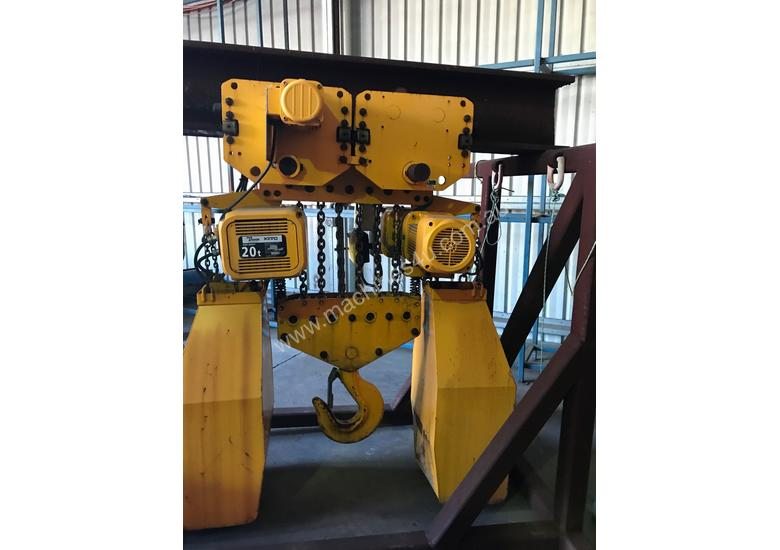 KITO-PWB ANCHOR Electric Chain Hoists.15Tand 20 T