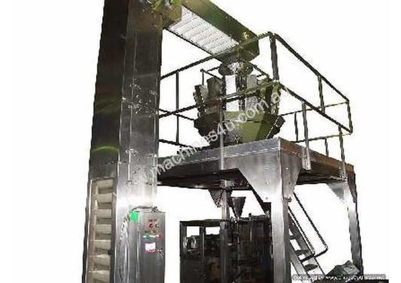 Complete Vertical form fill seal Packaging Line