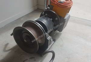 CMG custom 240v single phase 10kn cable hauling winch