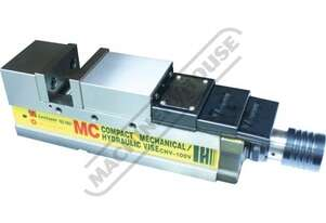 CHV-100V Safeway Compact Hydraulic Vice 100mm Jaw Width 125mm Jaw Opening