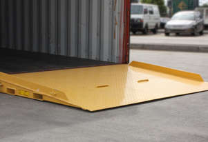 Container Ramp 8000KG 2320x1800mm Container Entry Platform with Raised Side Plates