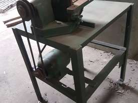 Face grinder linisher - picture2' - Click to enlarge