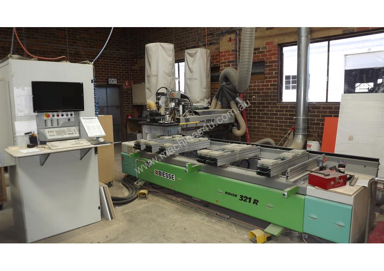Cnc Machine For Sale >> Used Biesse Cnc Machine For Sale Biesse Rover 321r