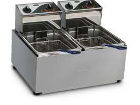 ROBAND- F25- Double Pan Fryers 5.L - picture0' - Click to enlarge