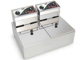 ROBAND- F25- Double Pan Fryers 5.L - picture2' - Click to enlarge