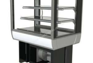 FPG 3C09-SQ-CT-FF-I Refrigerated Square Counter Top Cabinet w/Fixed Front Glass & Integral Condensin