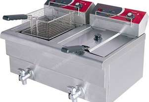 F.E.D. EF-S7.52 Double Benchtop Electric Fryer