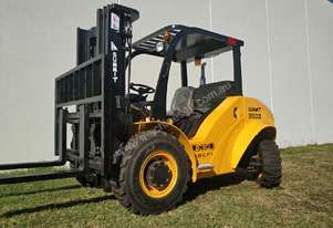 BRAND NEW 4WD 3.5ton 108HP 4 meter 3 Stage Container Mast ROUGH TERRAIN Forklift