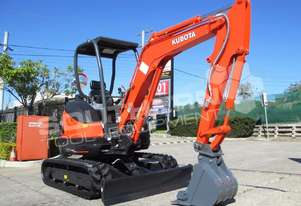 KUBOTA U25 2.5Ton Excavator [UNUSED] MACHEXC