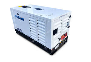 Portable Silent Box Compressor 25HP 127CFM Rotair DS-37-K