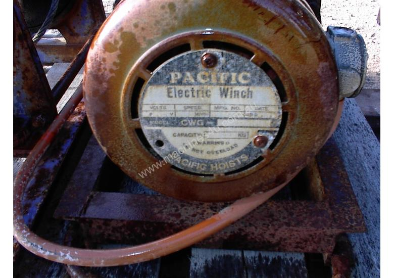 Pacific Electric winch/hoist