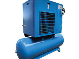 Pneutech 5.5hp Rotary Screw Air Compressor, Compressed Air Dryer, 270L Receiver - 5 YEAR WARRANTY - picture1' - Click to enlarge