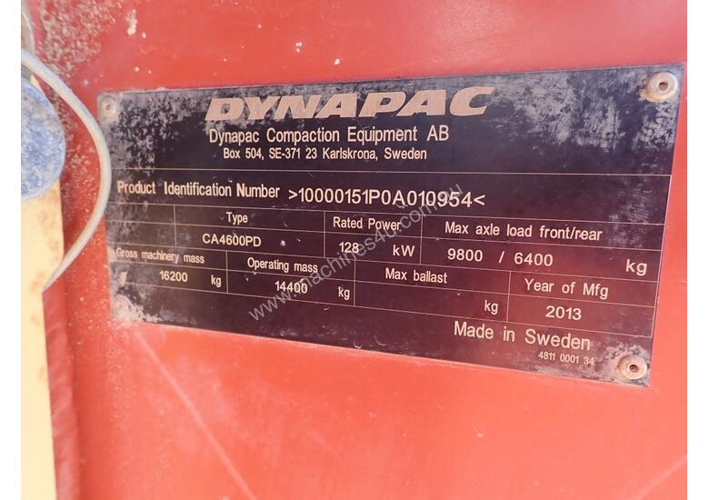 Dynapac CA4600PD Padfoot Roller