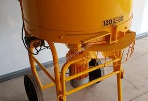 Soroto 120L-30 Cement Grout Pan Mortar Mixer 120 Litre 1.1 Kw 240 Volt