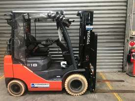 Toyota 32-8FG18 LPG / Petrol Counterbalance Forklift - picture0' - Click to enlarge