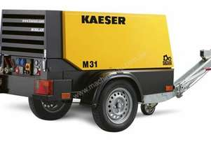 Brand new Kaeser M31, 110cfm Diesel Air Compressor