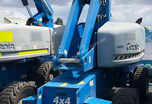 USED GENIE S65 - 65FT STICK BOOM LIFT AND GENERATOR