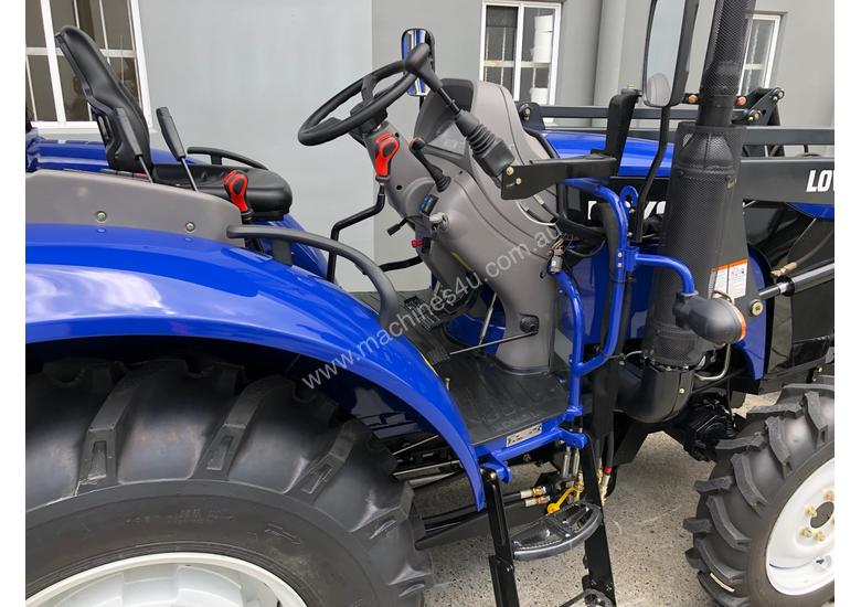 60HP 4WD ROPS TRACTOR WITH 4 IN 1 LOADER