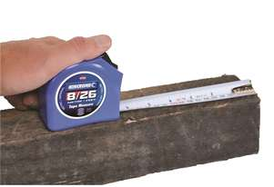 Tape Measure 8 Metre 26' Kincrome Builders Engineers Tools K11011